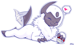 Pokeball Happy by blackpersian