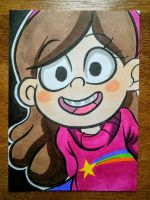 Mabel by joshuadraws