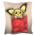 Baby Pichu by Calumon94