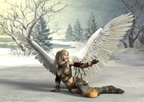 Reclining Aasimar by Atlantean6