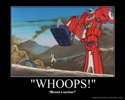Space Runaway Ideon Motivational Poster 2 by slyboyseth