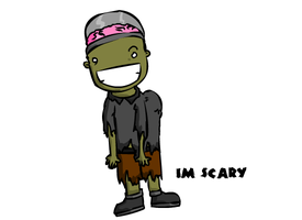 Im scary by Meatball-man