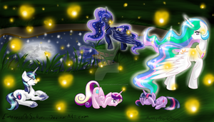 Fireflies entry by EmpressOfSakura
