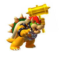 Bowser Jr. (GROWN-UP) by fearlessgerm82