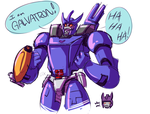 TF G1: Galvatron by Succubii