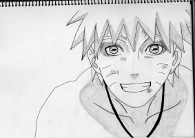 Naruto - Sage mode by livintoinspire