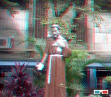 St. Francis-anaglyph by stinglacson