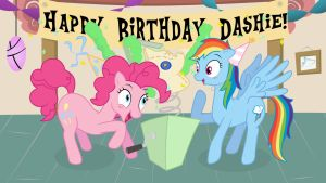 Pinkie's Private Party by minimoose772