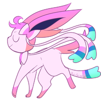 Overly Flawless Sylveon by Rv-Scarlet