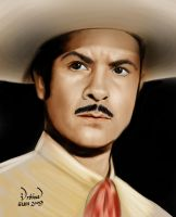 Antonio Aguilar by eumartleon