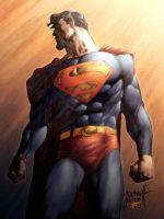 Superman colour fun by thatron