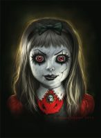 Haunted Doll by namesjames