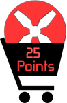 25 Points by TheRedCrown
