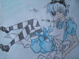 Ciel as Alice by MgaiL-aka-Hi-chan