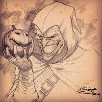 HobGoblin sketch: Inkers feel free ! by Sajad126