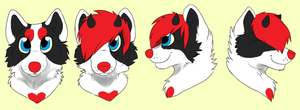 Fursuit head concept by pandadoge