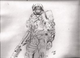Carter-259 Line Sketch by Noble--6