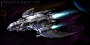 Spaceship - The ShadowRanger by ShadowDragon22