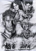 King Arthur by cacingkk