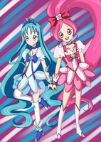 Heartcatch Pretty Cure by heartandbonebreaker