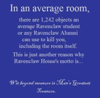 Ravenclaw House Motto by AtomicWhoopeeCushion