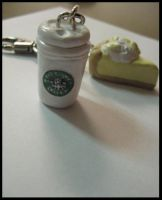 Starbucks and Pie Charms II by solsticefyre