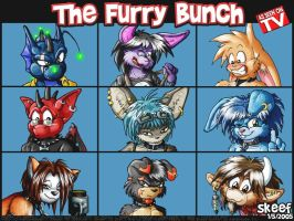 The Furry Bunch by skeef
