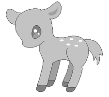 Free Deer Base by ForeverFluffyAdopts