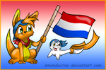 the Netherlands welcome the new king by Amandaxter