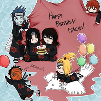 Happy Birthday Itachi 2 by jessicacicca