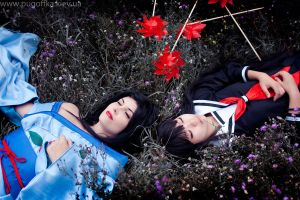 Hone Onna and Enma Ai by Pugoffka-sama