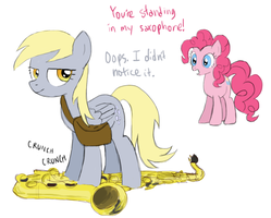 MLP:FiM Day 16 - Pretend she's a jerk for now by ah-darnit