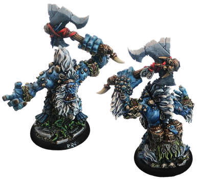 Trollkin Rok, Heavy Warbeast by Sebbythefreak