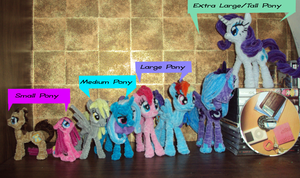 Pony Size Chart n' Price Guide by PonyCrafter