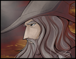 Gandalf by DeceptiveShadow