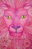 Lion of Roses by Starrydance