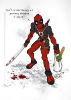 Deadpool by SIN-BIN