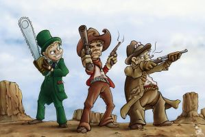 Westerns by wulfnstein