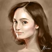 Portrait of Tatjana Saphira by Fihril