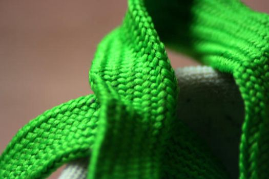 Macro of shoe laces by N1ghtf4ll3r