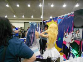 Otakon 2012 - Panty and Stocking Are Pole Dancing by Angel1224