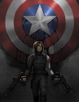 Winter Soldier - Killing Machine by Gatobob
