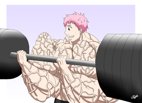 Shima's work out by LordBlackTiger666