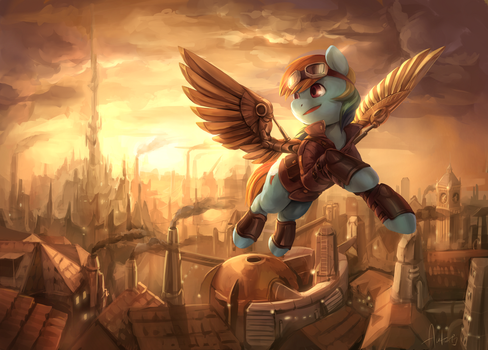 Steampunk-2 by Audrarius