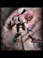 Lightning in action by DevilAnko