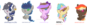 Mlp shipping DRAW TO ADOPTS~ READ DESCRIPTION!! by Goldenecho