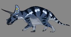 Triceratops by Spikeheila