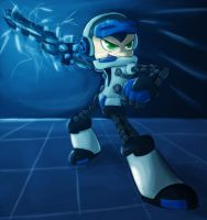 MIGHTY NO. 9 - BECK (TRANSFORM!) by Dante91