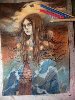 Daughter of the Sea - WIP by nati