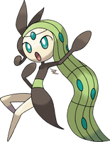 Meloetta Aria Forme v.2 by Xous54